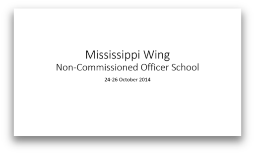 20141014 MS WG NCO School 2014_thumb